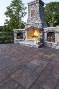 outdoor fireplace williamsburg va