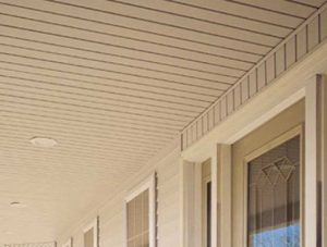 soffit and trim
